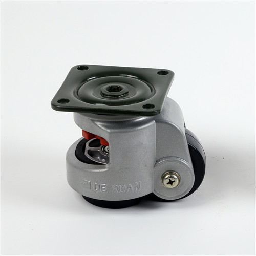 Silver gray level adjustment casters
